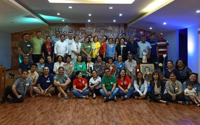 Reunião anual do Secretariado Ampliado de Leigos do Instituto Marista nas Filipinas